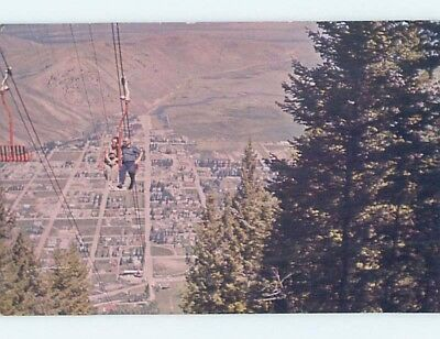 Pre-1980 AERIAL VIEW Jackson Wyoming WY A5062