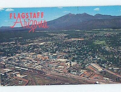 Pre-1980 AERIAL VIEW Flagstaff Arizona AZ A5140