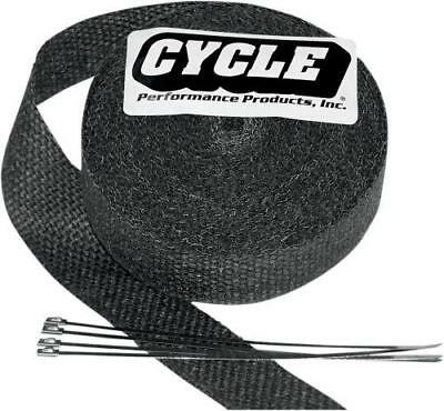 "Cycle Performance Exhaust Wrap 2"" x 100' Black"