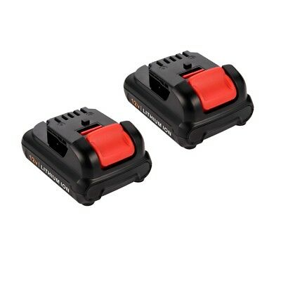 2 Pack 12V 4.0Ah MAX Lithium Ion Replacement Battery for Dewalt DCB120 DCB127