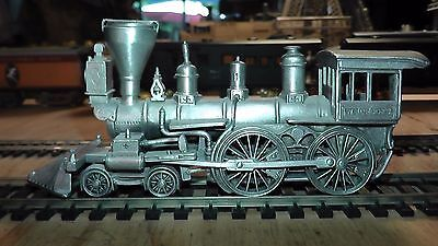 Solid Pewter Metal - Static Non Powered Model - 4-4-0 WM Crooks Steam Locomotive