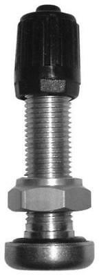 K&L Valve Stem 8mm Straight Silver