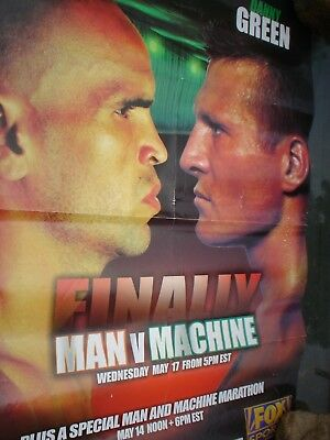 Second Hand Boxing Poster Anthony Mundine Verus Danny Green