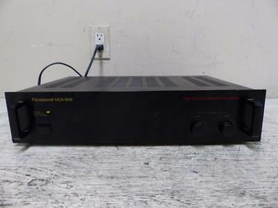 Parasound HCA-500 High Current Stereo Power Amplifier ~ FREE SHIPPING