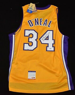 Shaquille O'Neal 2000-01 LA Lakers Soul Man Basketball Jersey Signed PSA/DNA