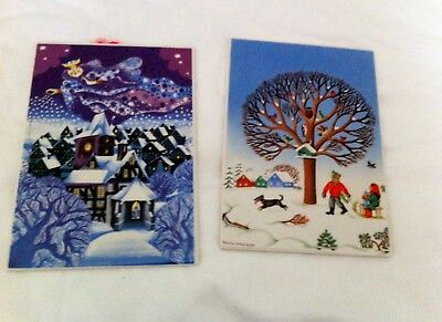 Villeroy & Boch VILBO CARDs Porcelain Christmas Postcards (2)