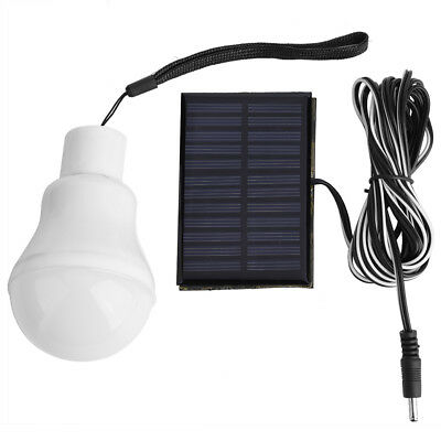 Portable Solar Powered Bulb Outdoor Indoor LED Lighting System Solar Panel DY