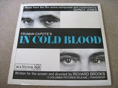 IN COLD BLOOD Quincy Jones Soundtrack  1967 RCA VICTOR  near mint