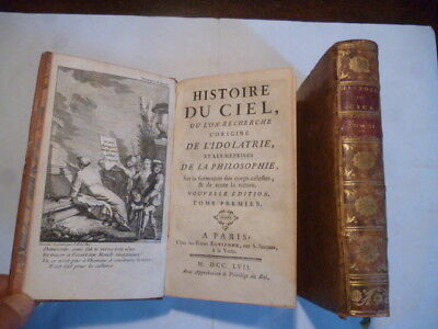 1757-2 Vol-Idolatry-Occult Egyptian Mythology Pagan Cult-Antiquarian Collectible
