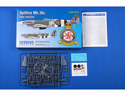EDUARD 7431 Spitfire Mk. IXc Late Version in 1:72