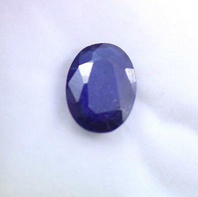 Natural 6.80 Ct Oval Shape EGL Certified Finest Blue Sapphire Gemstone DD313