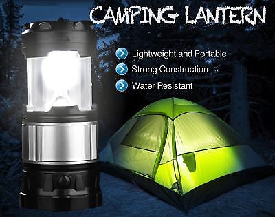Outdoor LED AC Rechargeable USB Solar Lantern Camping Lamp Portable Tent Hiking