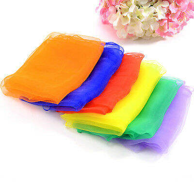 Big Juggling Scarves - Pack of 6 - Assorted Colours - Creative Dance 70x70cm