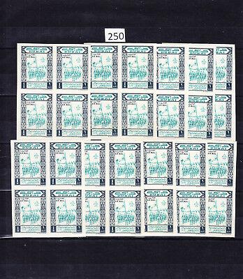 40 Stamps - Dubai - Mnh - Scouts - Air Mail