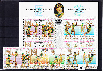 Cook Islands - Mnh - Scouts