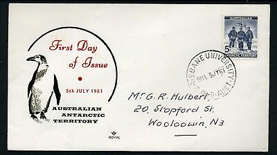 AAT 1961 5d - Royal FDC