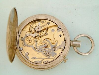 watchmakers Complicated Split second Chronograph pocket watch spares repairer