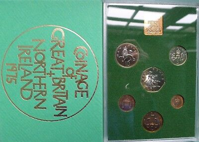 1975 Royal Mint 6 coin Proof set