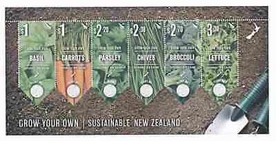New Zealand 2017 Grow Your Own (No Seeds)  Ms  Mnh