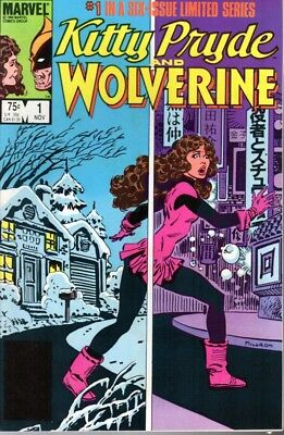 Marvel Comics Kitty Pryde and Wolverine Issues 1, 3, 4, 5, 6