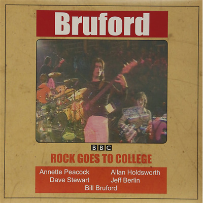 Vinile Bill Bruford - Rock Goes To College
