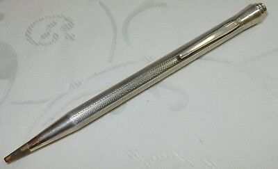 FABULOUS LIFE-LONG STERLING SILVER MECHANICAL PROPELLING PENCIL - 135  mm