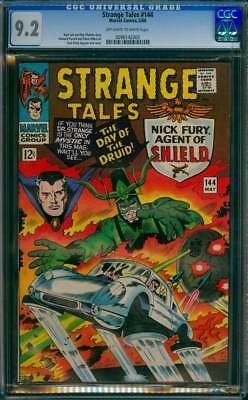 Strange Tales # 144  The Day of the Druid !  CGC 9.2  scarce book!