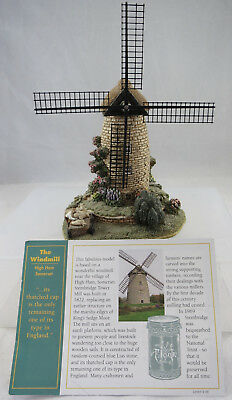 Lilliput Lane The Windmill L2224 With Deed and Sails
