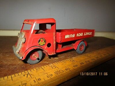 c.1950s tin Triang Minic 'British Road Services ' Truck - clockwork tin Minic