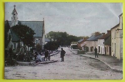 Postcard POSTED 1905 STREET SCENE CASTLE CONNELL Co.LIMERICK IRELAND