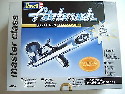 Revell 39108, Airbrush Pistole Professional master class, TOP, Neu, OVP