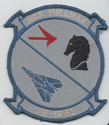 US Naval Aviation  VF-1285, Fighting Fubijars ,NAS Miramar patch, F-14 Tomcat