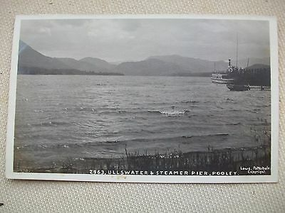 Ullswater And Steamer Pier, Pooley - Rppc