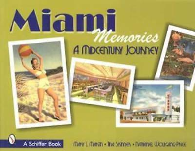 Miami Memories Postcards ID book Florida Beach Vintage