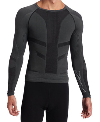 Mens Zoot Ultra Compression Recovery Long Sleep Fitness Sports Top Uk Size 2 New