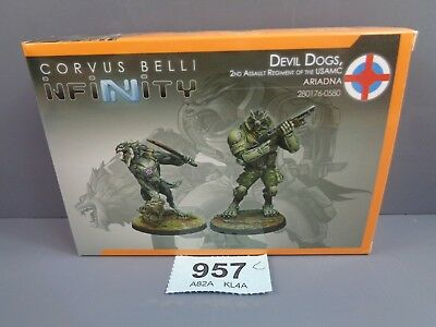 Wargaming Infinity Devil Dogs 2nd Assault Regiment USAMC Ariadna Clearance 957