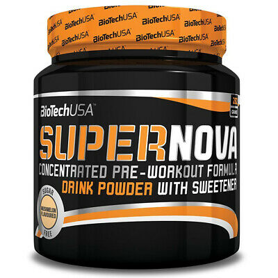 (63,44 Eur/kg) BioTech USA Supernova 282g Dose Pre Workout Booster AAKG