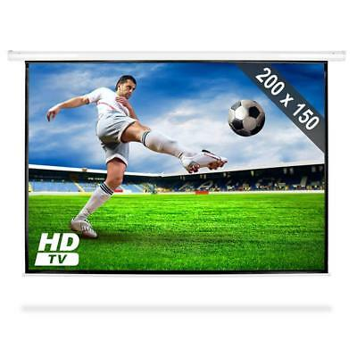 """100"""" Projection Screen Display Presentation Video Wall"""