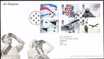 2008  Air Displays  - Cancel As Scan    Fdc   (4233)