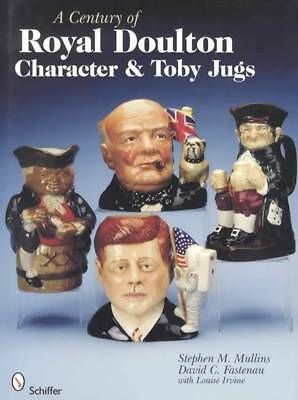 Royal Doulton Character & Toby Jugs Large Collector Reference Covers 100 Yrs