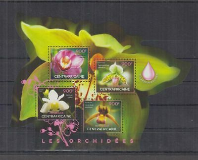 I34. Central Africa - MNH - Nature - Flowers - Orchids - 2014