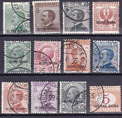 Oltre Giuba - Italian Colonies - Valuable Old Collection - Look!