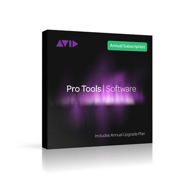 AVID Pro Tools Annual Subscription (Card and iLok) (NEW)