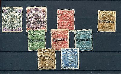 Rhodesia 1896-1913 Used Lot