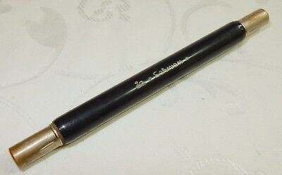 VINTAGE COMBINATION DOUBLE ENDED DIP PEN & PENCIL By SCHWAN