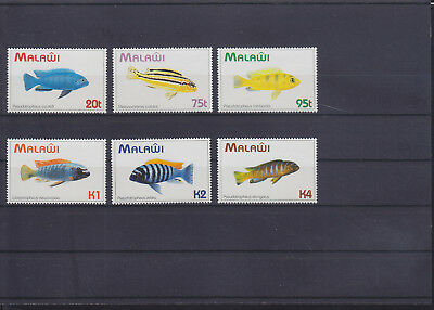 054784 Fische Fish Malawi 634-39 ** MNH Year 1994