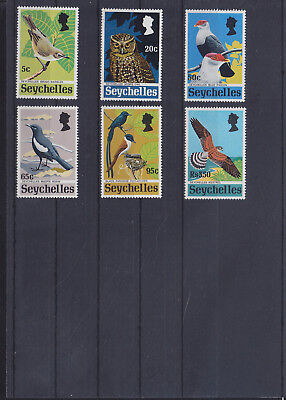 054800 Vögel Birds Seychelles 301-06 ** MNH Year 1972