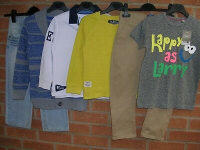 Mainly NEXT Boys Bundle T-Shirts Tops Shirt Jeans Jumpers Age 4-5 Some NEW