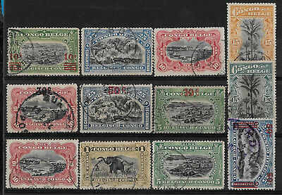 + Early Era Belgian Congo Lot-B Collection used