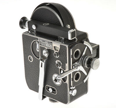 Bolex movie camera 8mm H-8 H8 De Luxe (?) with a Yvar 12.5/2.5 exc++++